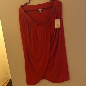 NWT A New Day Skirt with slit in front